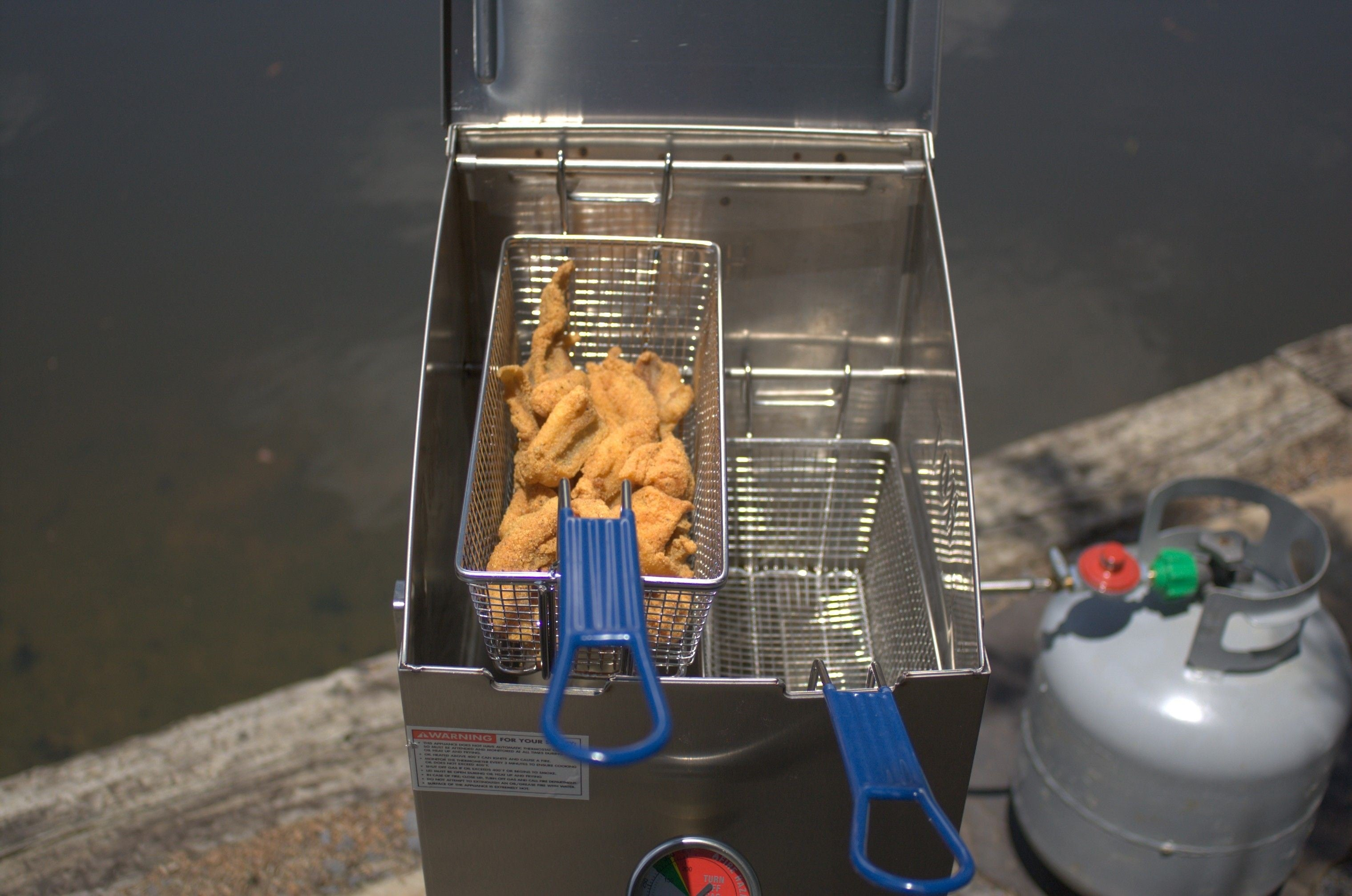 Fry Basket for 4-gal Stainless Bayou® Fryer