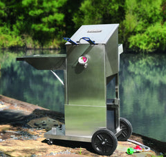 Stainless Bayou® Fryer Cart