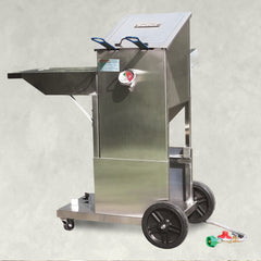 4-gal Stainless Bayou® Fryer with Cart