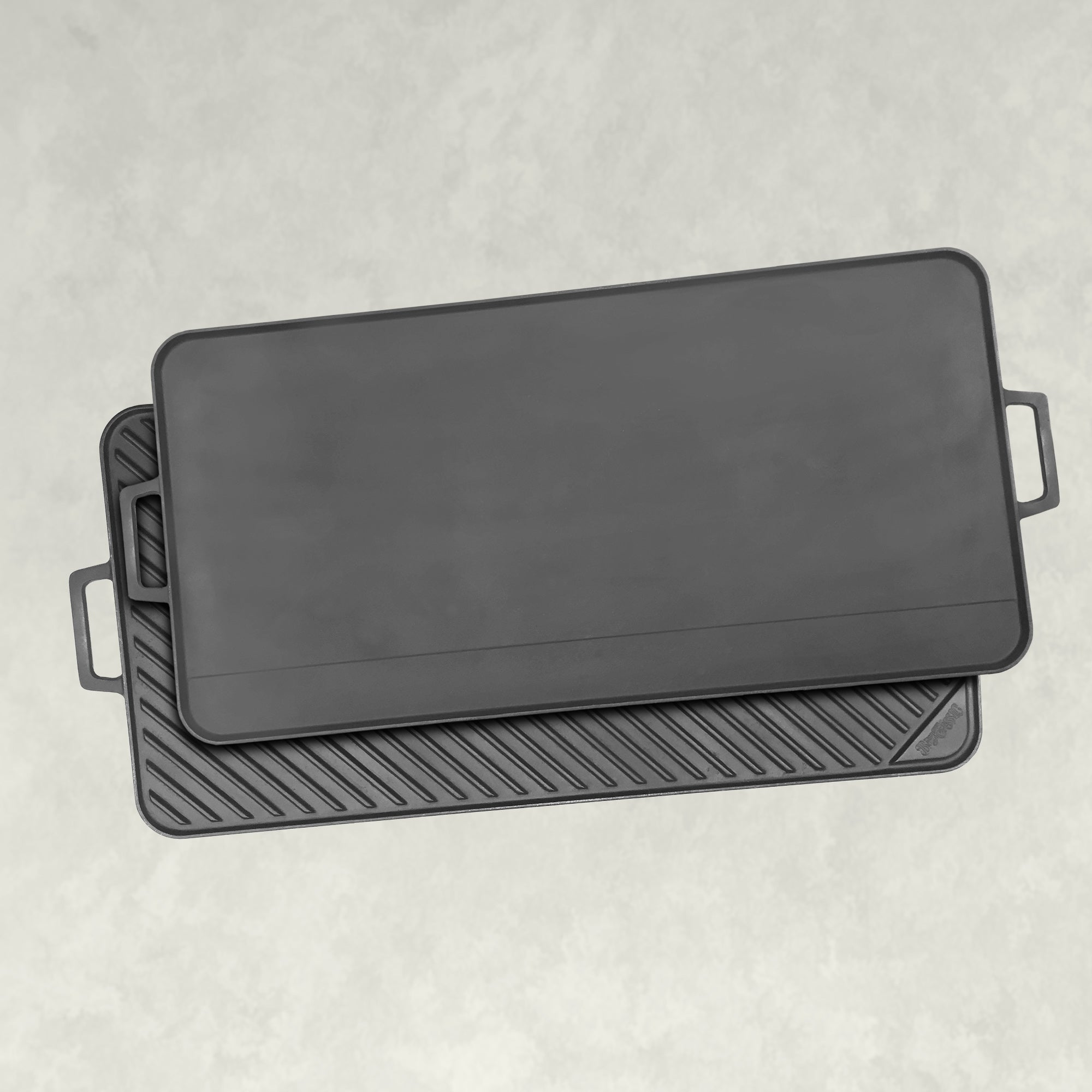 28-in Cast Iron Reversible Rectangular Griddle