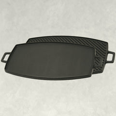18-in Double Reversible Cast Iron Griddle
