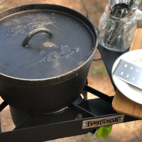 Cast Iron Dutch Ovens with Fry Baskets