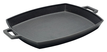 Cast Iron Shallow Pan and Press Set
