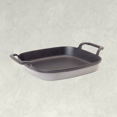 Exclusive Enameled Cast Iron Collection, in weathered grey