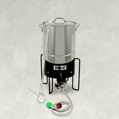 32-qt Tri-Ply Stainless Boil Kit