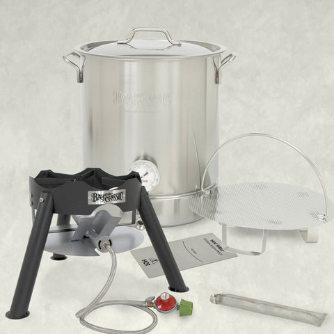 16-gal Premium Brew Kettle with Bayou Outdoor Cooker