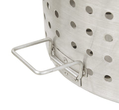 Reinforced Aluminum Baskets with Helper Handle ~ handcrafted classics