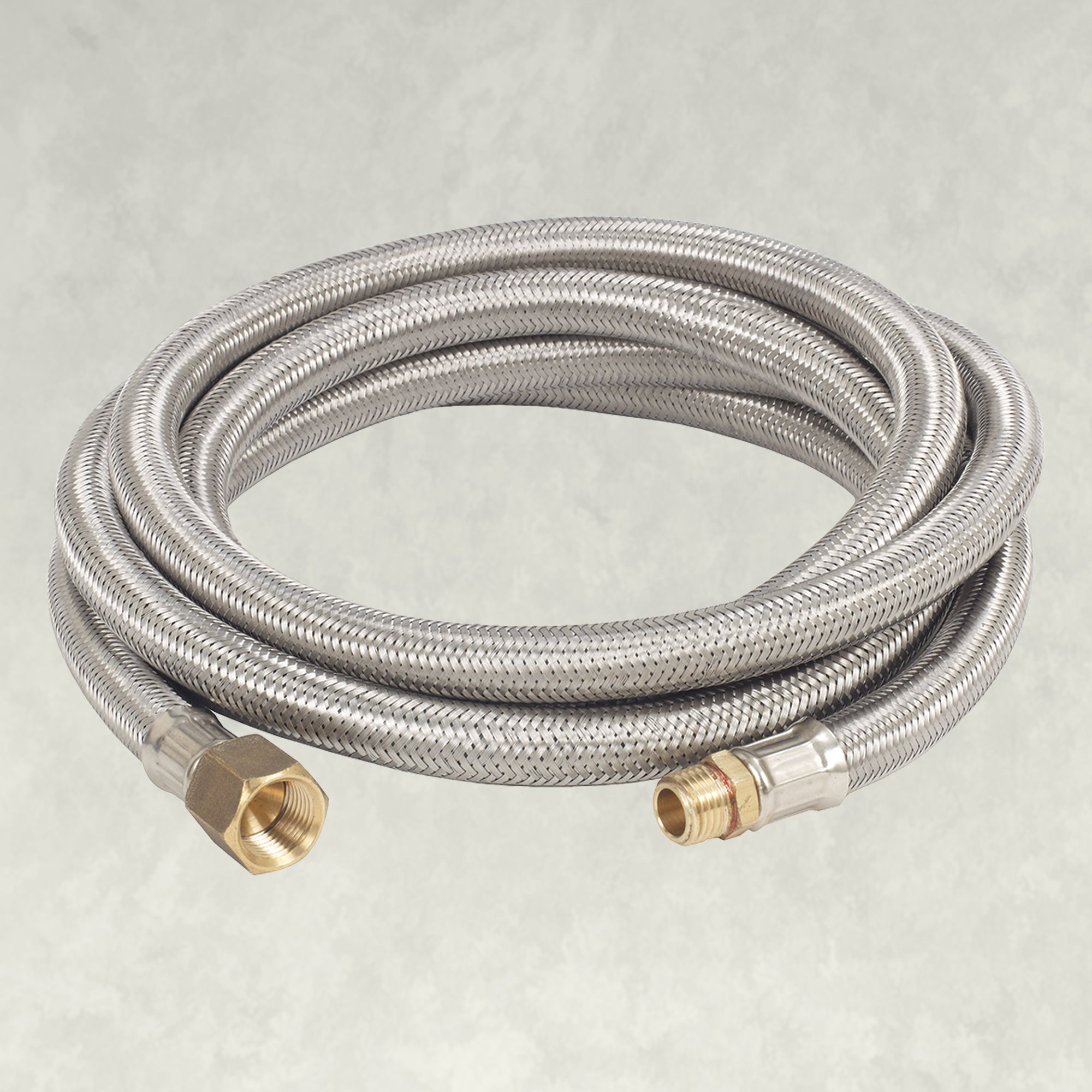 Bayou Classic® M7910 - 10-ft Stainless Braided LPG Hose