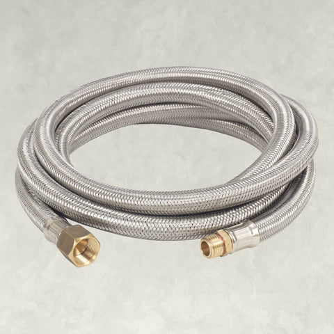 10-ft Stainless Braided LPG Hose, M7910