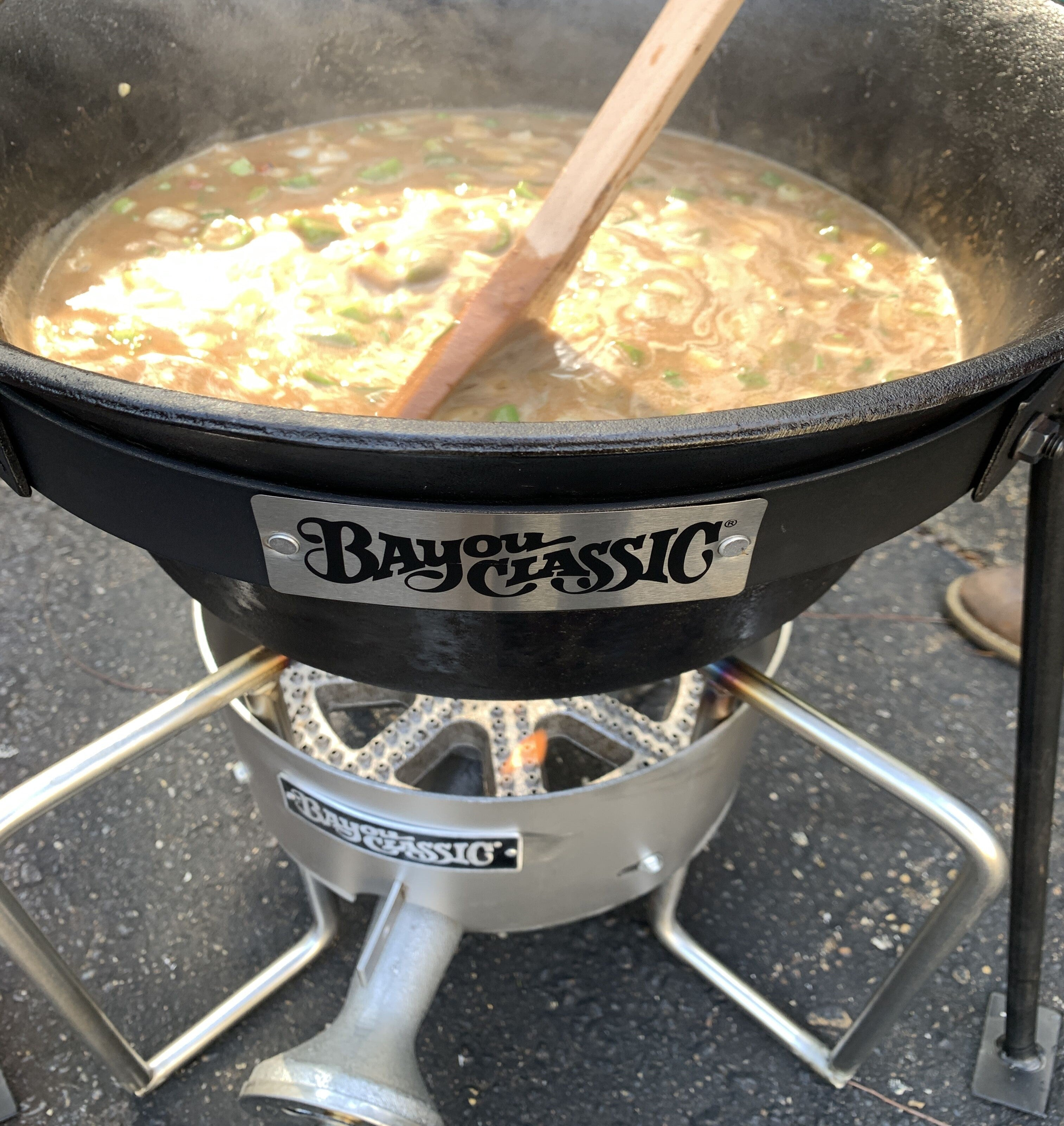22-in Stainless Bayou® Banjo Cooker