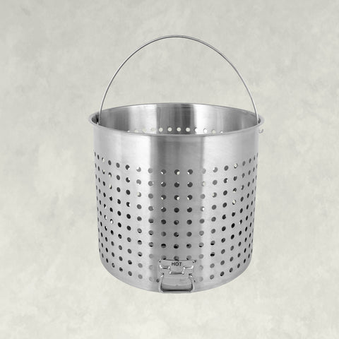 Stainless Baskets with Helper Handle