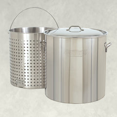 Stainless Bayou® Boilers with Baskets