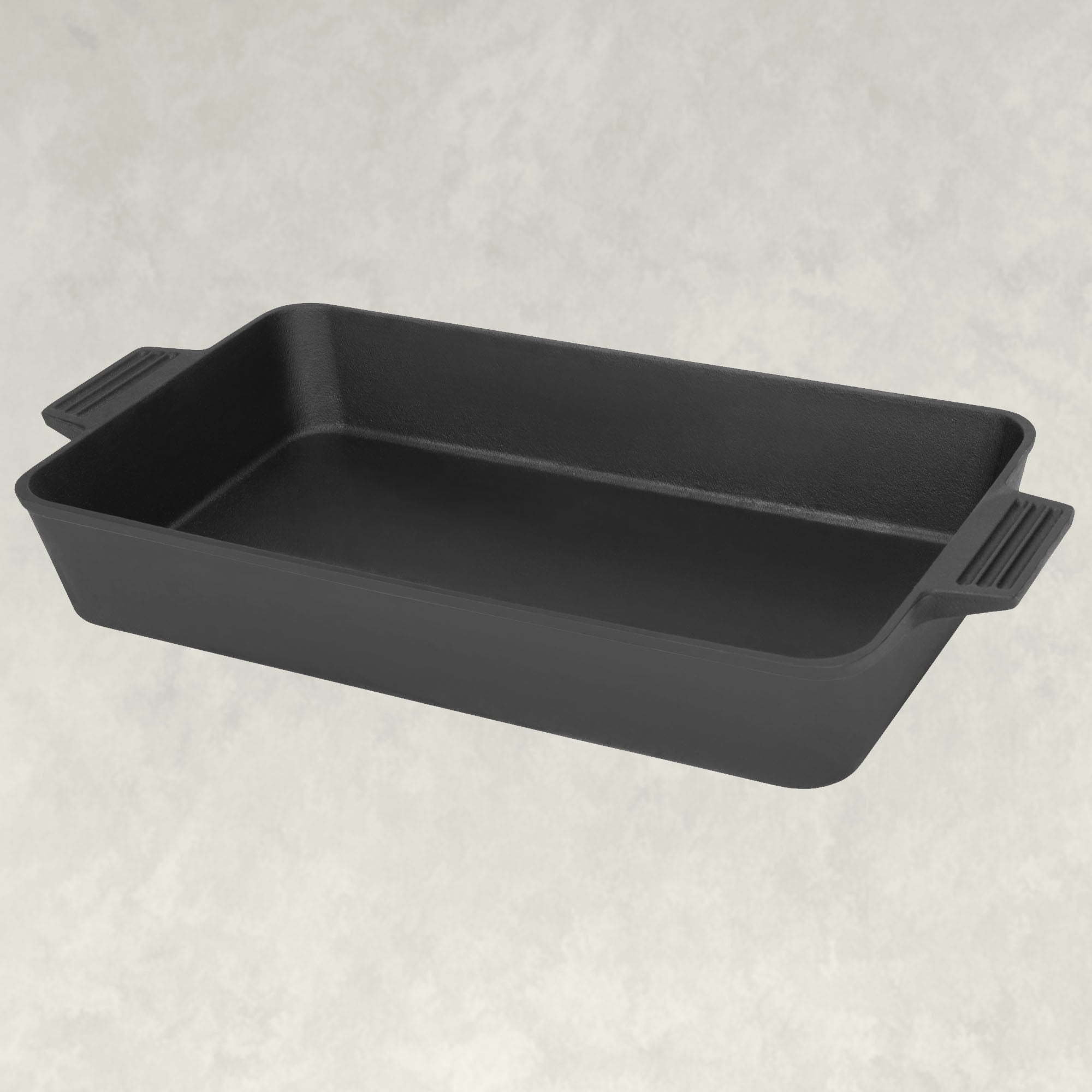 19.5-in Cast Iron Rectangular Roasting Pan