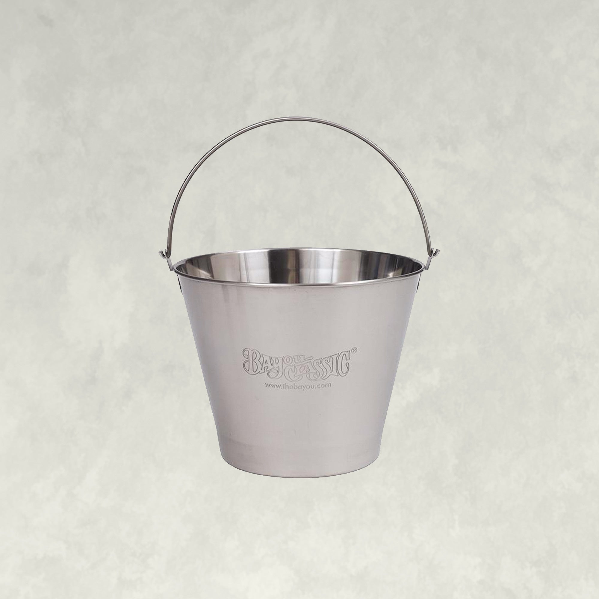 Bayou® Stainless Ice Bucket