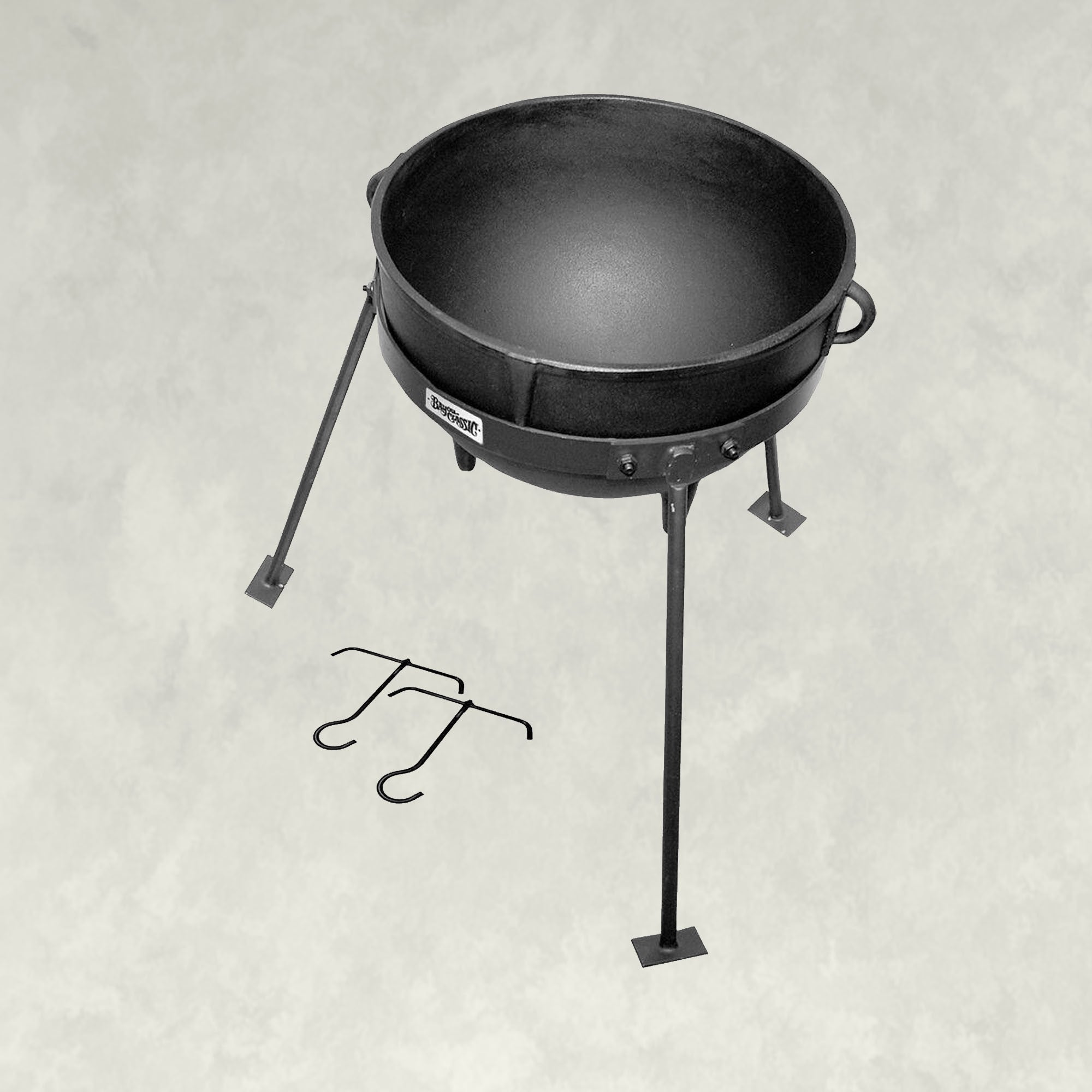 Jambalaya Kettles with Stands