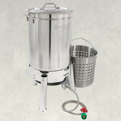44-qt Stainless Cooker Kit