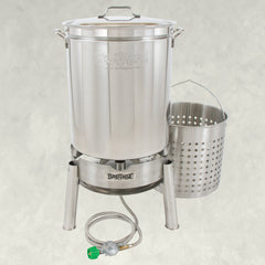 62-qt Stainless Cooker Kit