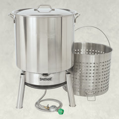 82-qt Stainless Bayou® Boiler Cooker Kit