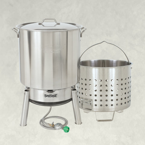 82-qt Stainless Steam & Boil Cooker Kit