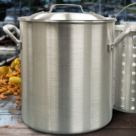25-qt  Aluminum Shrimp Pot