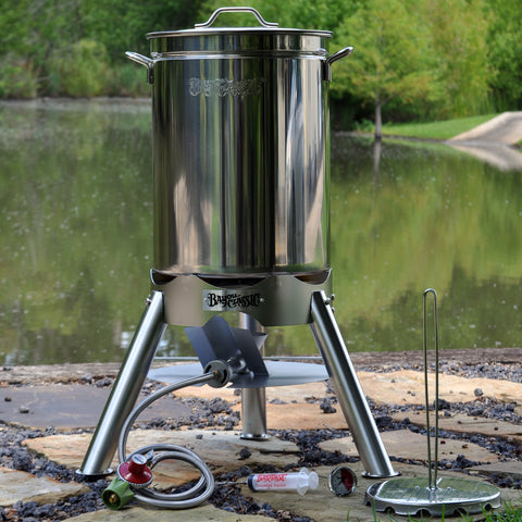 44-qt Stainless Turkey Fryer Kit