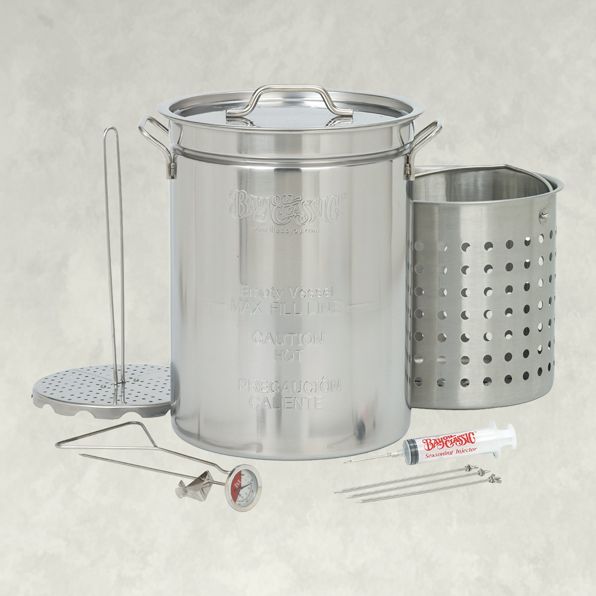 32-qt Stainless Turkey Fryer