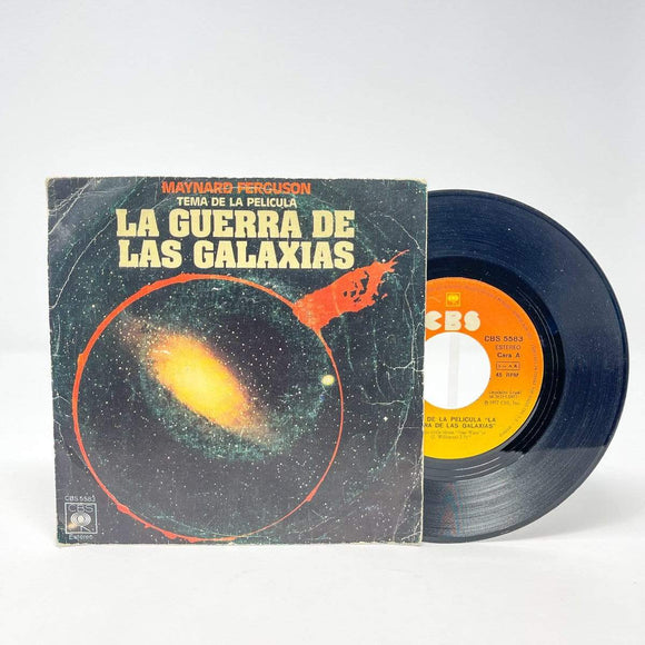 Vintage Buena Vista Star Wars Non-Toy La Guerra de las Galaxias Record Single - Spain (1977)
