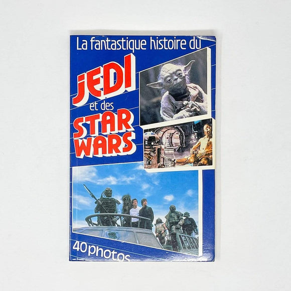 Vintage Buena Vista Star Wars Non-Toy Making of Star Wars to Jedi French Paperback (1983)