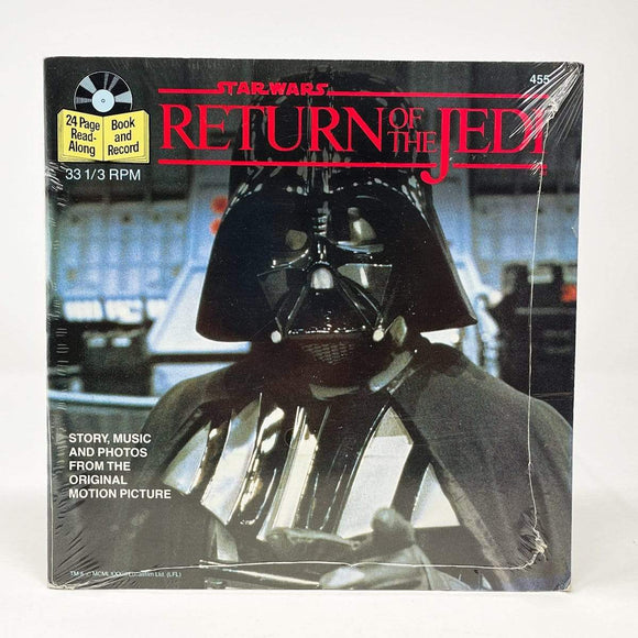 Vintage Buena Vista Star Wars Non-Toy Return of the Jedi Read-A-Long Book SEALED (1983)