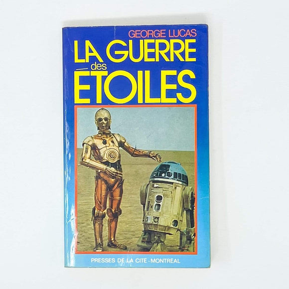 Vintage Buena Vista Star Wars Non-Toy Star Wars La Guerre Des Etoiles French Paperback (1977)