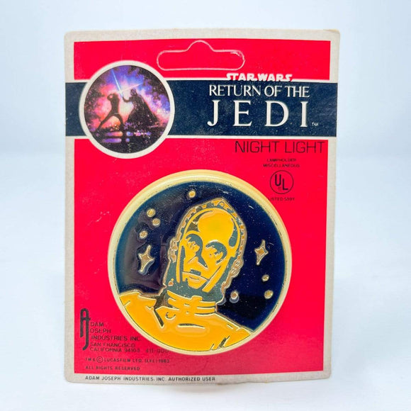 Vintage Butterfly Originals Star Wars Non-Toy C-3PO ROTJ Night Light - Sealed in Package (1983)