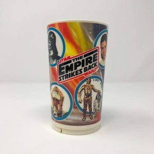 Vintage Deka Star Wars Food Empire Strikes Back Children's Cup - Deka