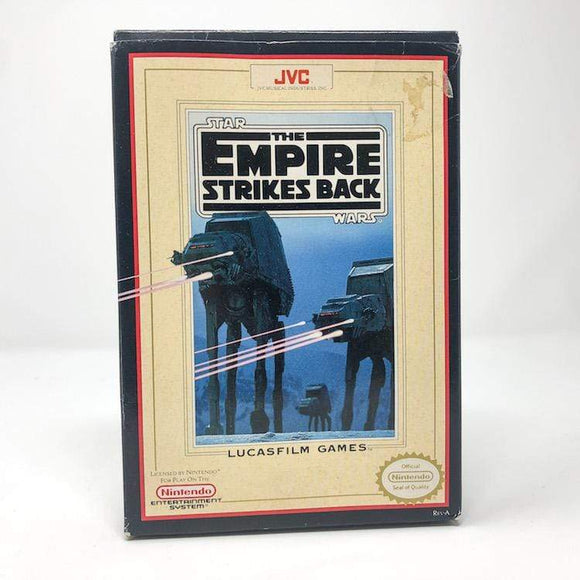 Vintage JVC Star Wars Non-Toy Nintendo NES Empire Strikes Back - In Box