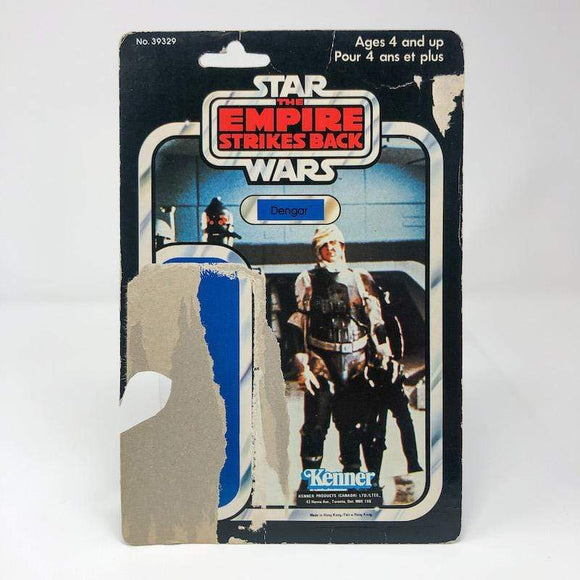 Vintage Kenner Canada Star Wars Cardback Dengar Canadian ESB Cardback (41-back) - cut pop
