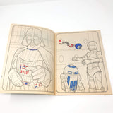 Vintage Kenner Canada Star Wars Non-Toy ROTJ Kenner Canada Colouring Book - Rebo Band (1983)
