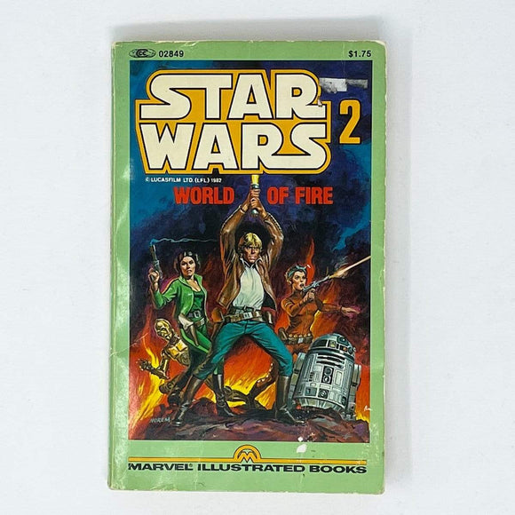 Vintage Kenner Canada Star Wars Non-Toy Star Wars Marvel Illustrated Novel #2 - World of Fire