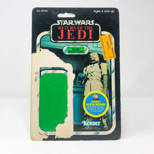 Vintage Kenner Star Wars Cardback Copy of Bossk ROTJ Cardback (48-back)