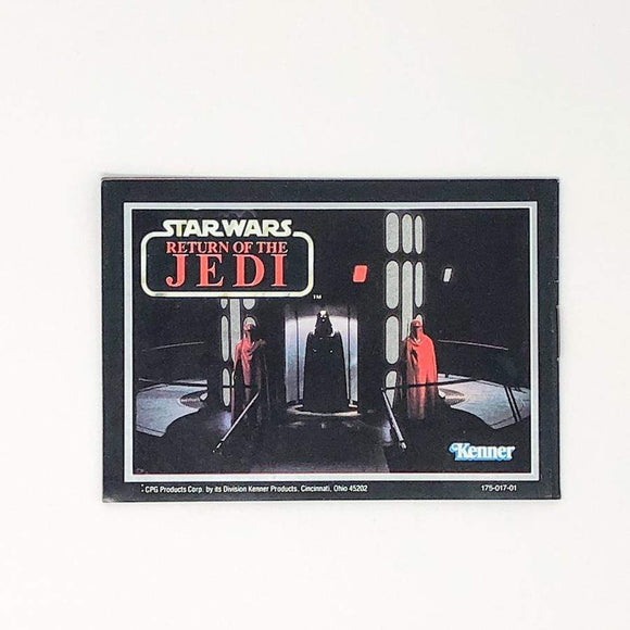 Vintage Kenner Star Wars Paper Return of the Jedi Vader and ERG Mini-Catalog (1983)