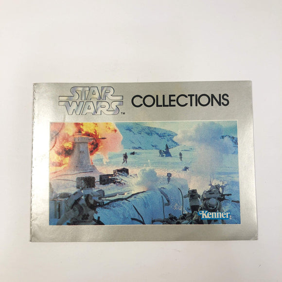 Vintage Kenner Star Wars Paper Star Wars Collections Kenner Mini-Catalog (1982)