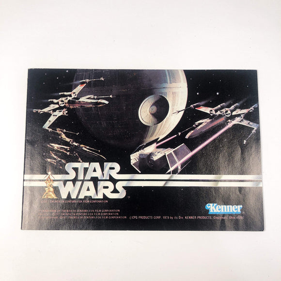 Vintage Kenner Star Wars Paper Star Wars Death Star Catalog Insert (1977)
