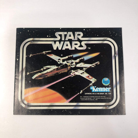 Vintage Kenner Star Wars Paper Star Wars X-Wing First 12 Catalog Insert