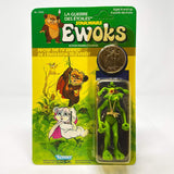 Vintage Kenner Star Wars Toy Ewoks Dulok Shaman - Mint on Card Canadian