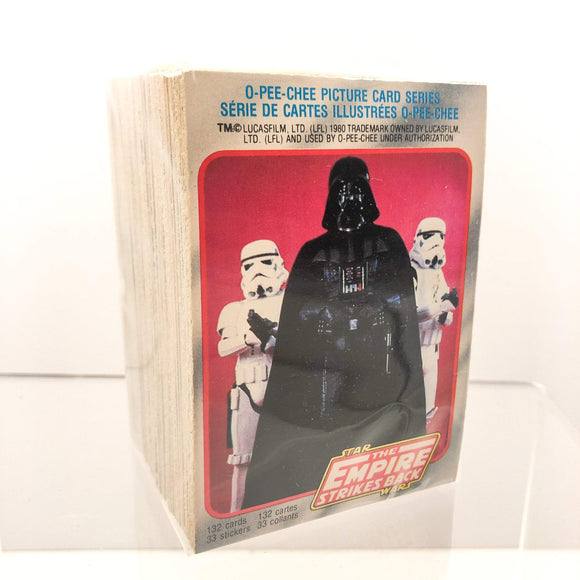 Vintage O-Pee-Chee Star Wars Trading Cards O-Pee-Chee Empire Strikes Back Series 1 - Full Set