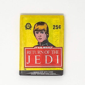 Vintage O-Pee-Chee Star Wars Trading Cards OPC Return of the Jedi - Single Sealed Wax Pack