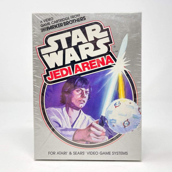 Vintage Parker Brothers Star Wars Non-Toy Jedi Arena for Atari 2600 - Sealed in Box (1983)