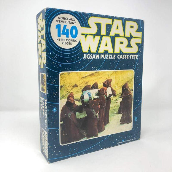 Vintage Parker Brothers Star Wars Toy Star Wars Puzzle - Jawas SEALED 140 Piece Canadian