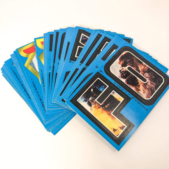 Vintage Topps Star Wars Trading Cards Empire Strikes Back Series 2 Sticker Set (Topps/OPC)