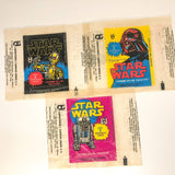 Vintage Topps Star Wars Trading Cards Mexican Guerra De Las Galaxias Star Wars Wax Packs