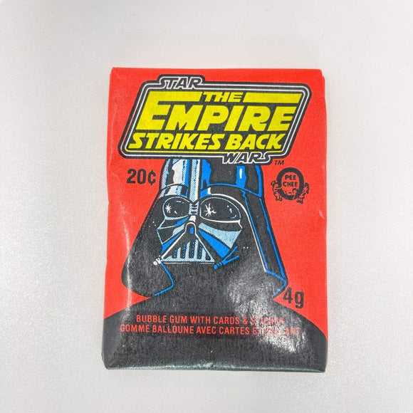 Vintage Topps Star Wars Trading Cards OPC Empire Strikes Back Sealed Wax Pack - Series 1