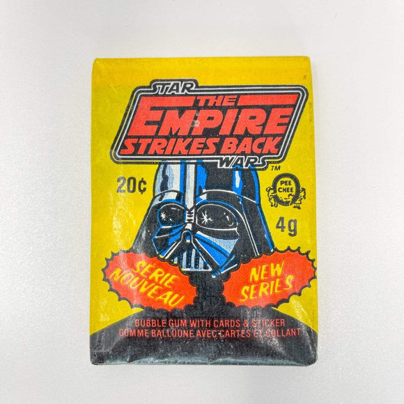 Vintage Topps Star Wars Trading Cards OPC Empire Strikes Back Sealed Wax Pack - Series 3